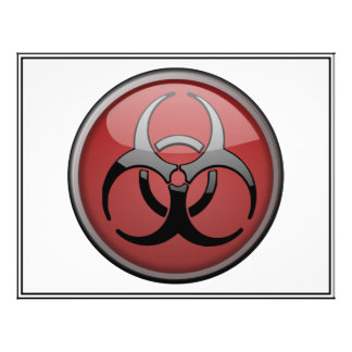 BioHazard Toxic Flyer Design