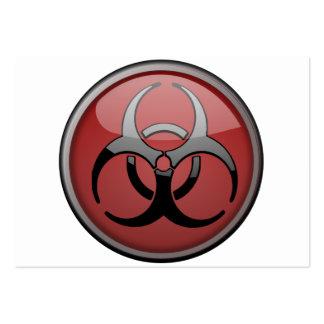 BioHazard Toxic Large Business Card