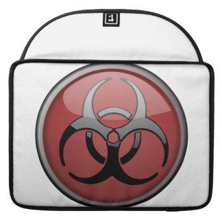 BioHazard Toxic Sleeves For MacBook Pro