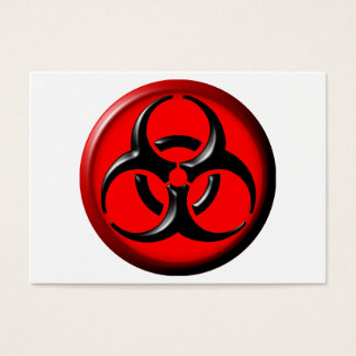 BioHazard Toxic - Red Business Card