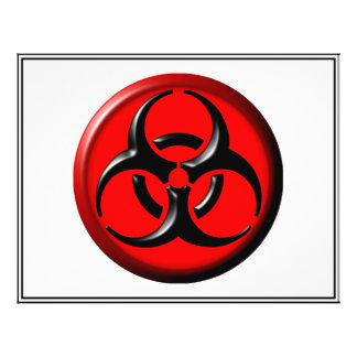 BioHazard Toxic - Red Custom Flyer