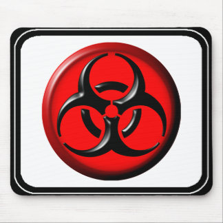 BioHazard Toxic - Red Mouse Pad