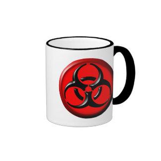 BioHazard Toxic - Red Ringer Coffee Mug