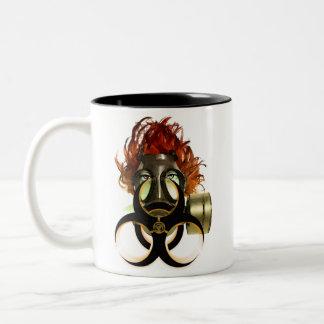 biohazard Two-Tone coffee mug