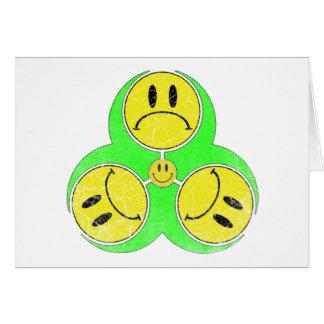 Biohazard Unhappy. Card