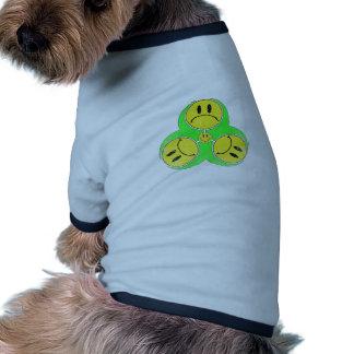 Biohazard Unhappy. Doggie Tshirt