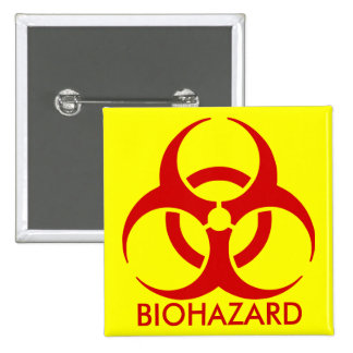 biohazard ! warning danger buttons