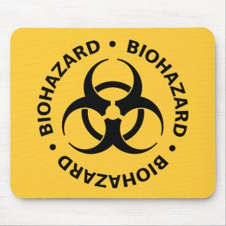 Biohazard Warning Mouse Pad