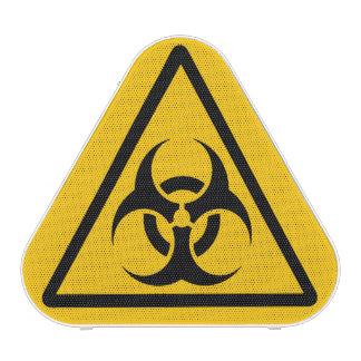 BIOHAZARD Warning Sign Bluetooth Speaker