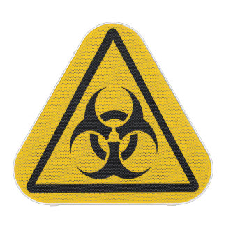 BIOHAZARD Warning Sign Speaker