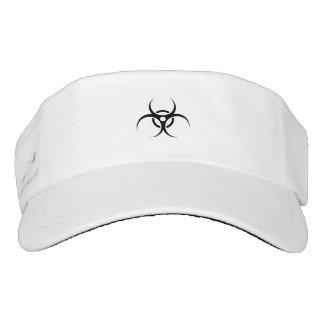 Biohazard Warning Symbol Headsweats Visor