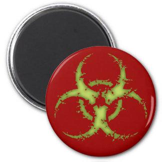 Biohazard - xdist imán redondo 5 cm