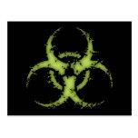Biohazard -xdist post card