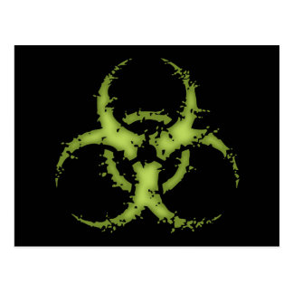 Biohazard -xdist postcard