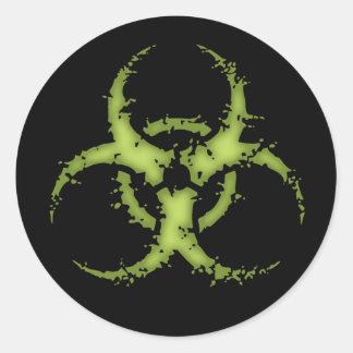 Biohazard -xdist sticker