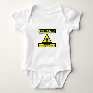Biohazard zombie baby bodysuit