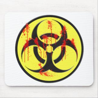 Biohazard Zombie Outbreak Mouse Pad