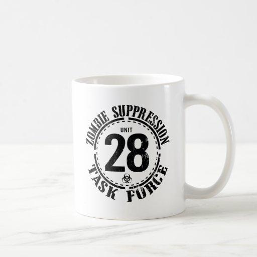 Biohazard Zombie Task Force Classic White Coffee Mug