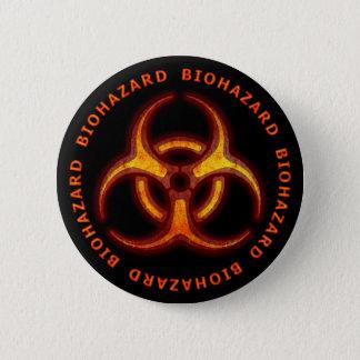 Biohazard Zombie Warning Button