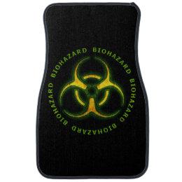 Biohazard Zombie Warning Car Floor Mat