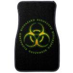 Biohazard Zombie Warning Car Mat