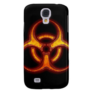 Biohazard Zombie Warning Galaxy S4 Cover