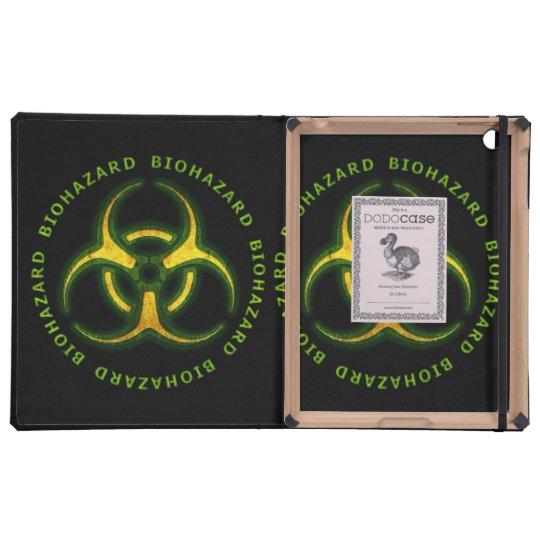 Biohazard Zombie Warning iPad Covers