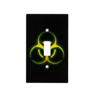 Biohazard Zombie Warning Light Switch Cover