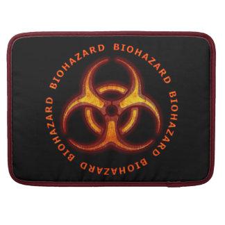 Biohazard Zombie Warning MacBook Pro Sleeves