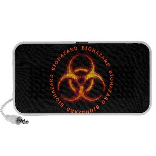 Biohazard Zombie Warning Mp3 Speaker