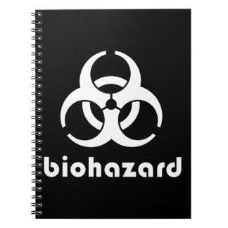 Biohazard � Zombies Spiral Notebook