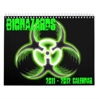 Biohazards 2011 Calendar