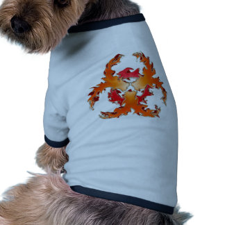 Biohazzard_white Camiseta De Mascota