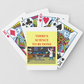biología baraja cartas de poker