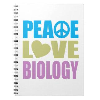 Biología del amor de la paz libros de apuntes