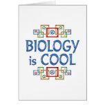Biología fresca felicitacion