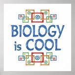 Biología fresca poster