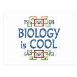 Biología fresca tarjetas postales