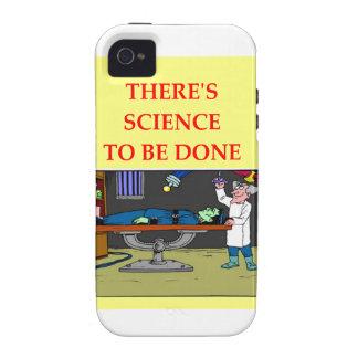 biología iPhone 4/4S fundas