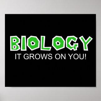¡Biología… que crece en usted! Impresiones