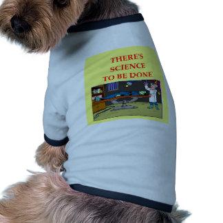 biología camisetas de perrito
