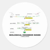 Biological Engineer Inside Sticker