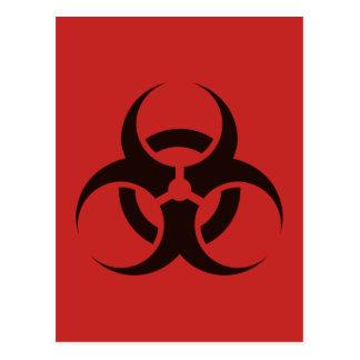 Biological Hazard Postcard