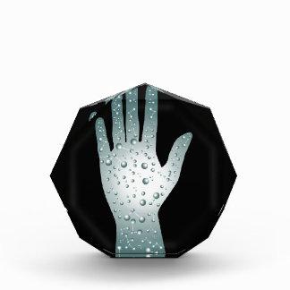 Biological Technology Healthcare Hand Acrylic Award