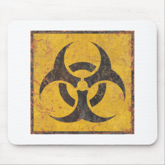 Biological Warning Sign Mouse Pad