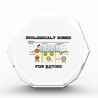 Biologically Wired For Eating (Endocytosis) Acrylic Award