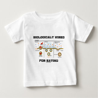 Biologically Wired For Eating (Endocytosis) Baby T-Shirt