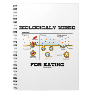 Biologically Wired For Eating (Endocytosis) Notebook