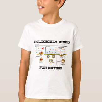 Biologically Wired For Eating (Endocytosis) T-Shirt