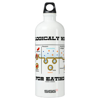 Biologically Wired For Eating (Endocytosis) Water Bottle